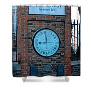 Royal Observatory Grenwich  Shower Curtain