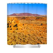 Ruins Of 900 Year Old Hopi Village Shower Curtain