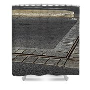Ruins Of Original Fortifications Montreal Shower Curtain