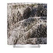 Running Water Shower Curtain
