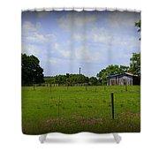 Rural Florida Shower Curtain