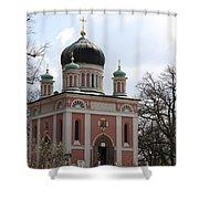 Russian Church Shower Curtain