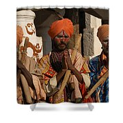 Sadus Holy Men Of India Shower Curtain