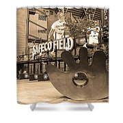 Safeco Field - Seattle Mariners Shower Curtain