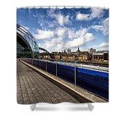 Sage Gateshead And Newcastle Skyline Shower Curtain