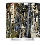 Sagrada Familia - Barcelona Spain Shower Curtain