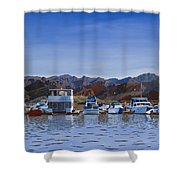 Saguaro Lake Left Shower Curtain