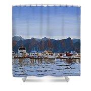Saguaro Lake Right Shower Curtain