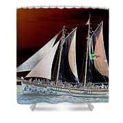 Sailing In Hope Shower Curtain