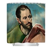 Saint James The Younger Shower Curtain