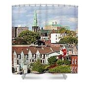 Saint John New Brunswick Shower Curtain