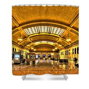 Saint Paul Union Depot Shower Curtain