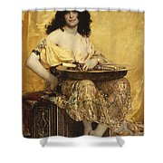 Salome Shower Curtain