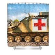 Samaritan Ambulance Shower Curtain