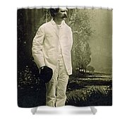 Samuel Langhorne Clemens (1835-1910) Shower Curtain