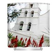 San Diego Mission Shower Curtain