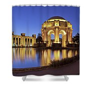 San Francisco Palace Of Fine Arts Theatre Shower Curtain