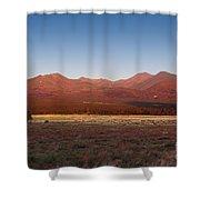 San Francisco Peaks Sunrise Shower Curtain