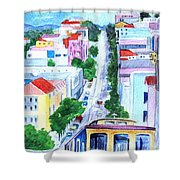 San Francisco Tradition Shower Curtain