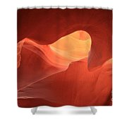 Sandstone Abyss Shower Curtain