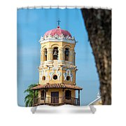 Santa Barbara Church Shower Curtain