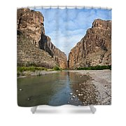 Santa Elena Canyon Shower Curtain