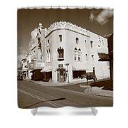 Santa Fe Street Scene Shower Curtain