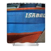 Santa Rosalia Harbor 12 Shower Curtain