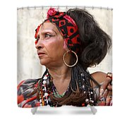 Santeria Woman Shower Curtain