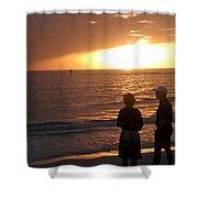 Sarasota Sunset Shower Curtain