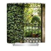Savannah Gate Impasto Shower Curtain