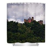 Schonburg Oberwesel Am Rhein Shower Curtain