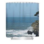 Sea Coast Shower Curtain