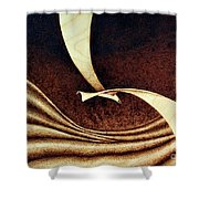 Seagull Shower Curtain by Ilaria Andreucci
