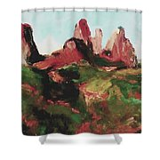 Sedona 89a Uptown Shower Curtain