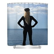 Self-confidence Shower Curtain