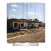 Service Station 4 Shower Curtain