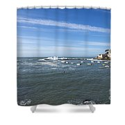 Sestri Levante With The Sea Shower Curtain
