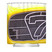 Seven Grille Shower Curtain