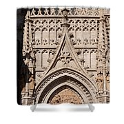 Seville Cathedral Ornamentation Shower Curtain