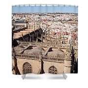 Seville Cityscape Shower Curtain