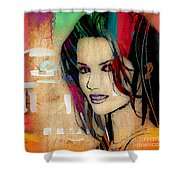 Shania Twain Collection Shower Curtain