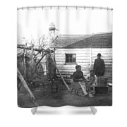 Sharecropper Family, 1900 Shower Curtain