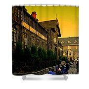Shimla Town Hall Shower Curtain