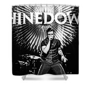 Shinedown  Brent Smith Shower Curtain
