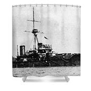 Ships Hms 'dreadnought Shower Curtain