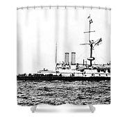 Ships Hms 'victoria Shower Curtain