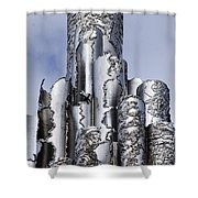 Sibelius Pipe Monument - Helsinki Finland Shower Curtain