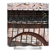 Side Street Shower Curtain