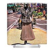 Sidewalk Catwalk 12 Shower Curtain